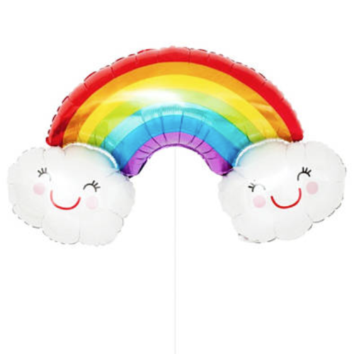 Rainbow Balloon Cloud Shape - MR Party #1 Balloon Shop Singapore