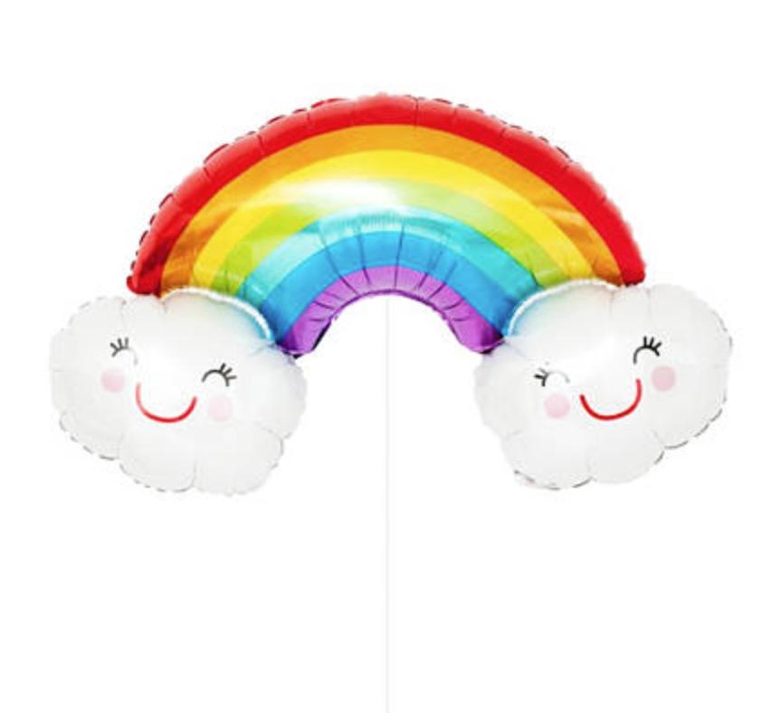 Rainbow Balloon Cloud Shape - MR Party #1 Balloon Shop Singapore