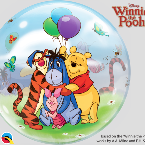 Pooh and Friends Print Balloons @ MR Party #1 Balloon Shop Singapore