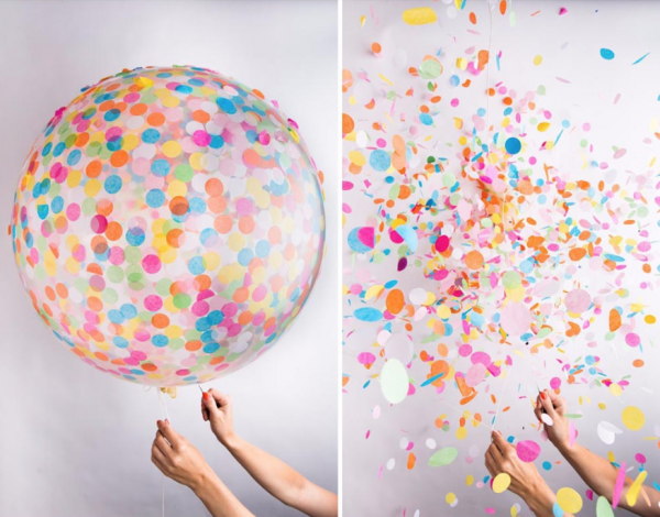 Confetti Balloons - Party Balloons Singapore @ MR Party