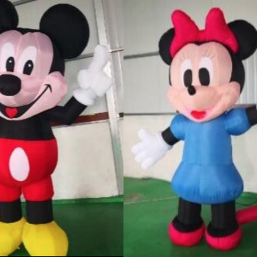 Inflatable Props Mickey & Minnie Mouse - MR Party - #1 Party Store Singapore