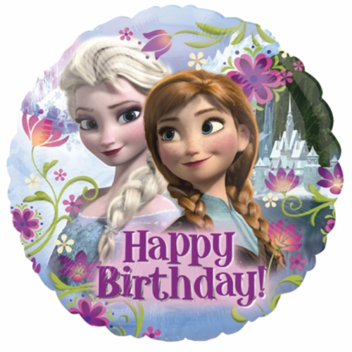 Disney Frozen Birthday Foil Balloon @ MR Party - Balloon Shop Singapore