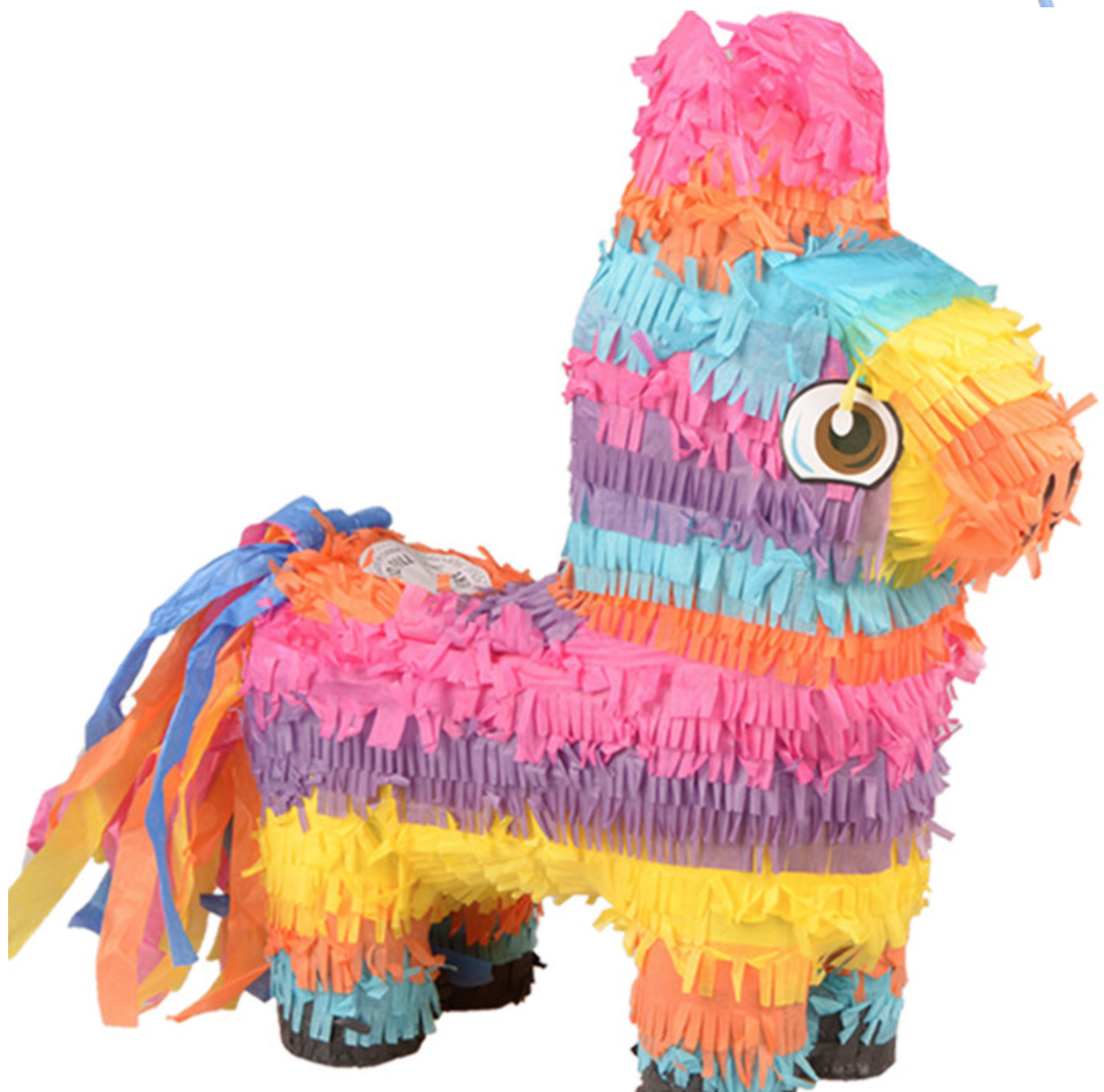 Rainbow Donkey Pinata - Party Decorations @ MR Party Singapore