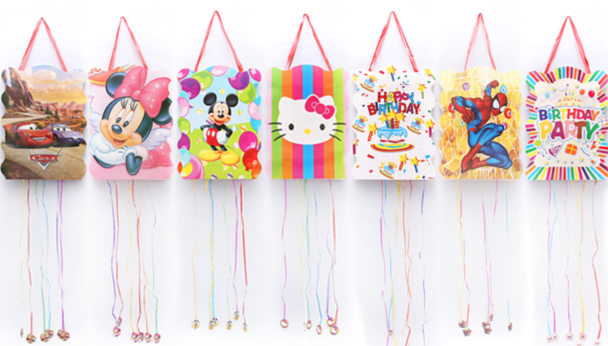 Paper Bag Pinata - Cheap Party Supplies @ MR Party Singapore