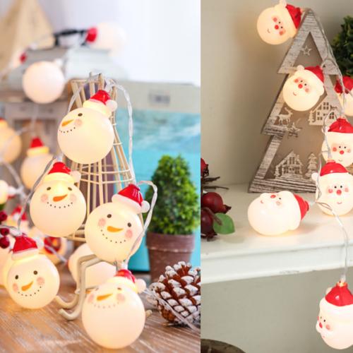 LED Christmas (Snowman / Santa Claus) Lights _ MR Party